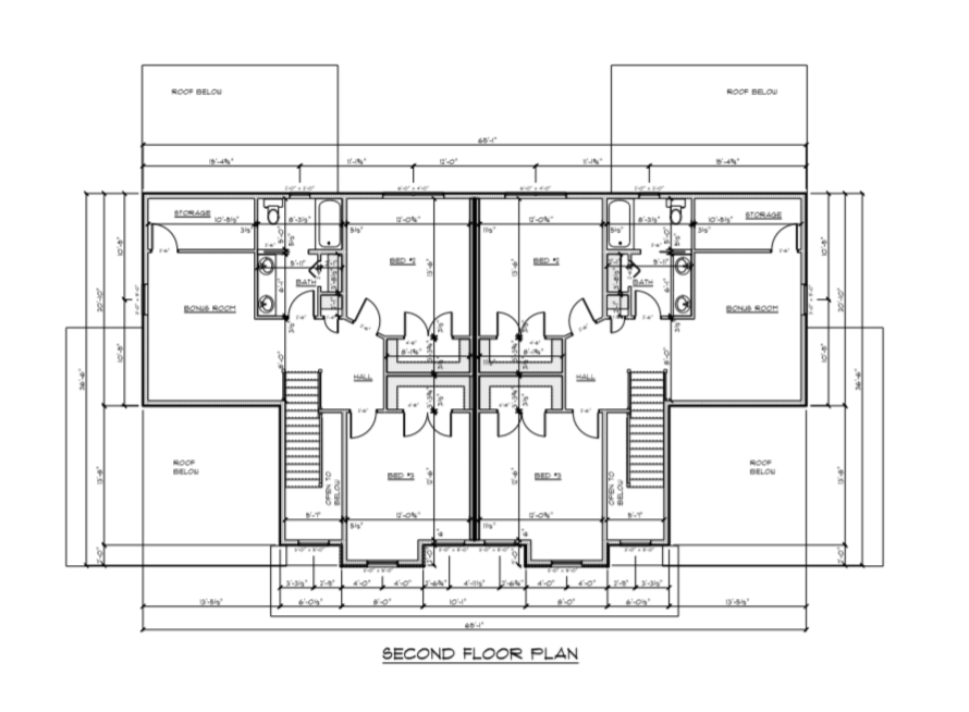 Woodland Heights Floor Plan - second floor